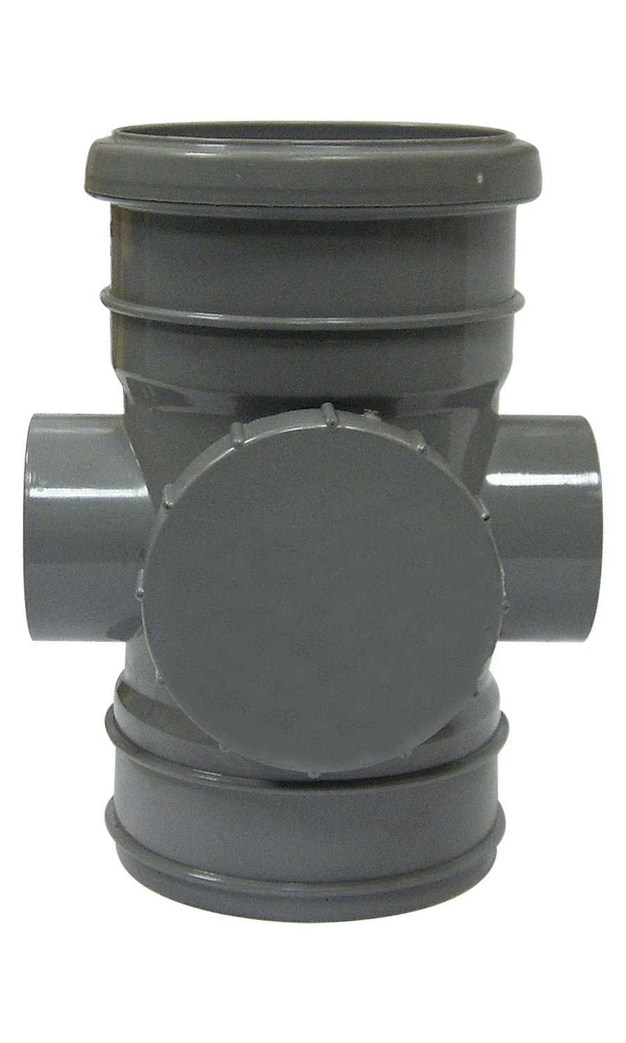 FLOPLAST 110MM RING SEAL SOIL SYSTEM - SP275 ACCESS PIPE - GREY