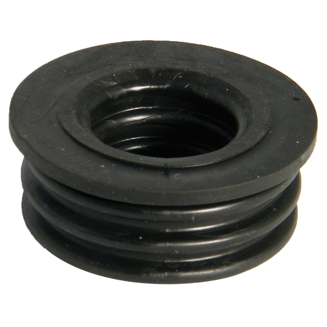 FLOPLAST SOIL SYSTEM - SP12 50MM BOSS ADAPTOR - RUBBER PUSH-FIT