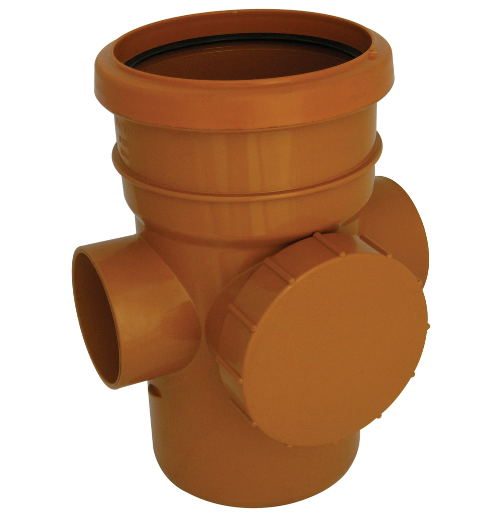 FLOPLAST D274 ACCESS PIPE SS 110MM UG DRAINAGE