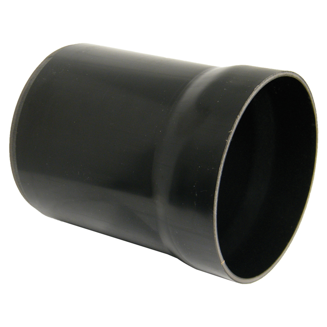FLOPLAST D505 RISER B/I GULLY TRAP BLACK 110MM UG DRAINAGE