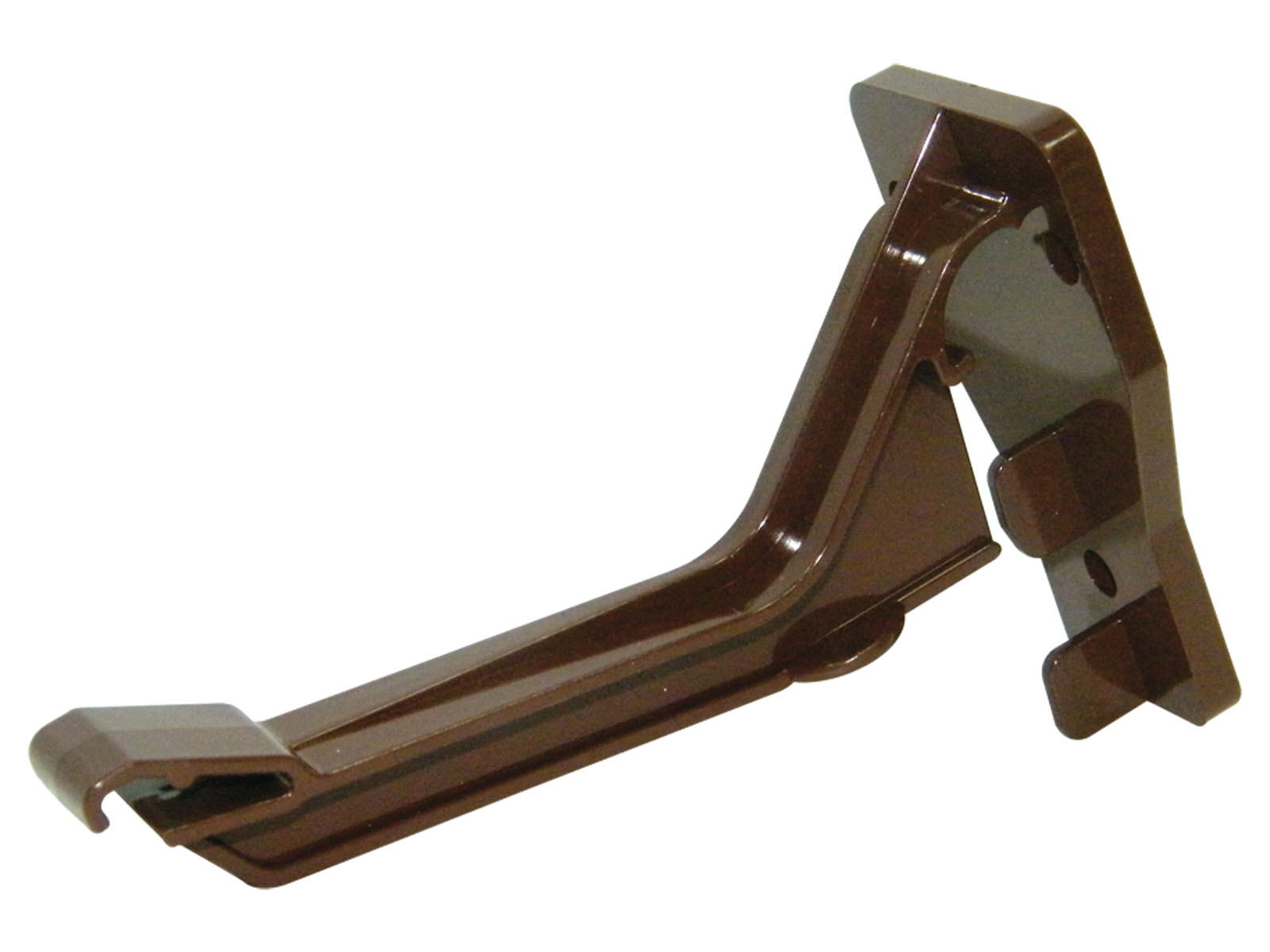 RKN2BR TOP HUNG FASCIA BRACKET NIAG GUTTER BROWN