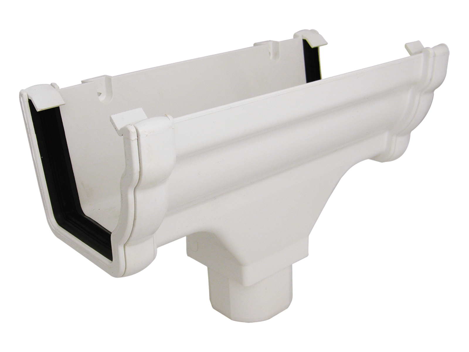 RON1W  R/OUTLET NIAG GUTTER WHITE