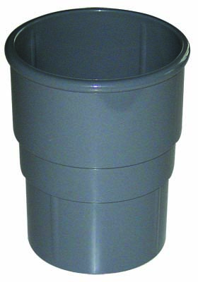 FLOPLAST MINIFLO 50MM DOWNPIPE - RSM1 PIPE SOCKET - GREY