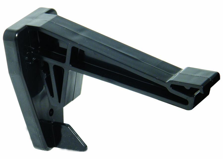 FLOPLAST HI-CAP GUTTER - RKH2 TOP HUNG FASCIA BRACKET - BLACK