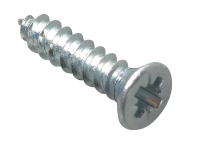 """FORGEPACK SELF TAPPING SCREWS - CSK - ZP 1/2"""" X 4 (PK60)"""