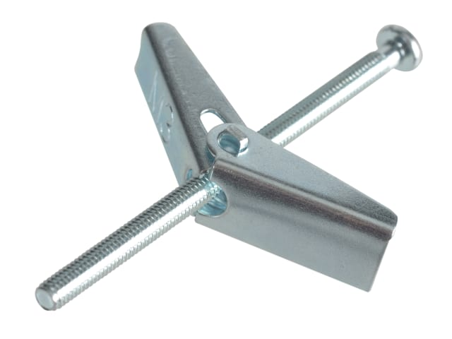 FORGEPACK PLASTERBOARD SPRING TOGGLES - ZP M3 X 50MM (PK8)