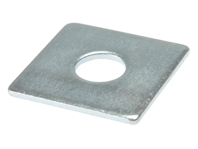 FORGEFIX SQUARE PLATE WASHERS ZP M50 X 12MM (PK10) - 10SQPL5012