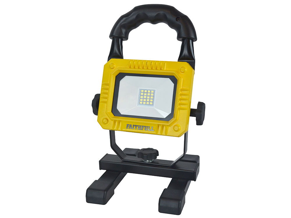 FAITHFULL RECHARGEABLE SMD LED WORK LIGHT WITH MAGNETIC BASE - TSCASLLEDPOD