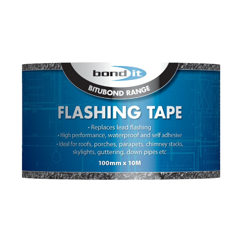 BOND IT FLASHING TAPE 100MM X 10M BDF003