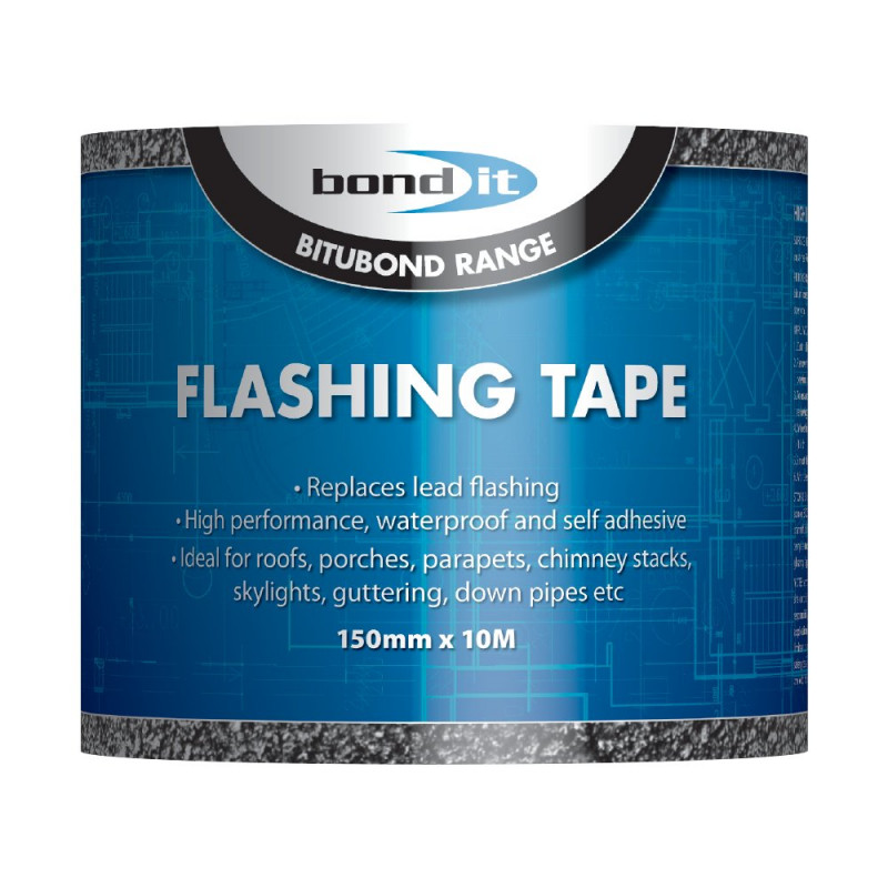 BOND IT FLASHING TAPE 150MM X 10M BDF004