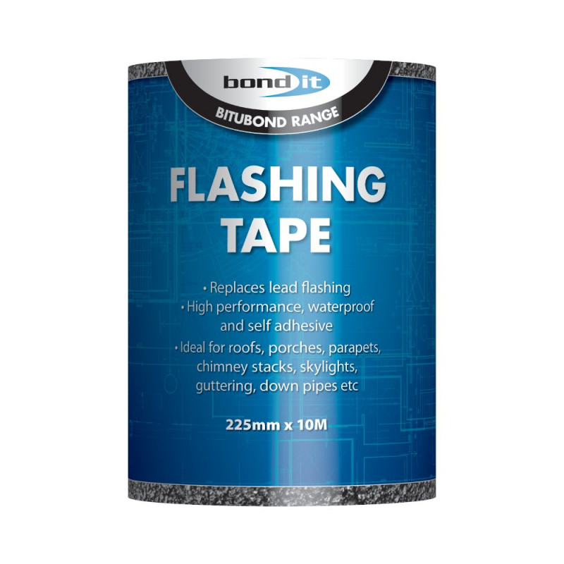 BOND IT FLASHING TAPE 225MM X 10M BDF005