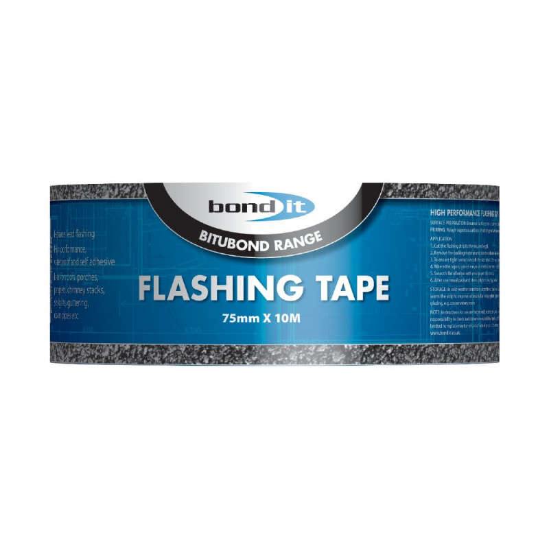 BOND IT FLASHING TAPE 75MM X 10M BDF002