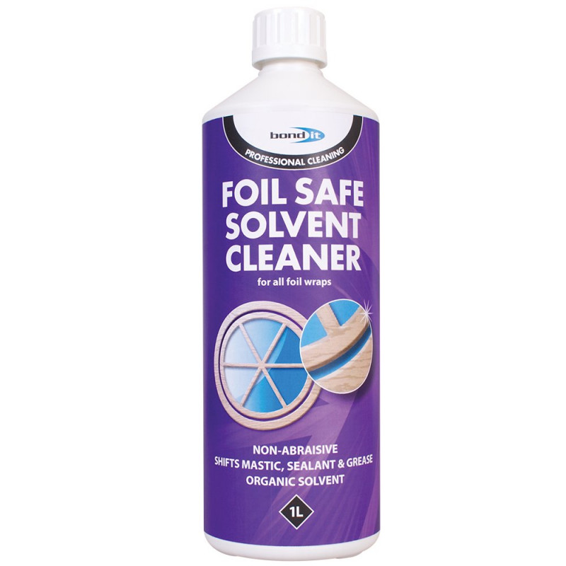 BOND IT FOIL SAFE SOLVENT CLEANER 1ltr BDC007