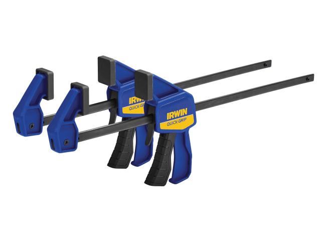 IRWIN MINI BAR CLAMP 300MM (12 INCH) TWIN PACK - T54122EL7