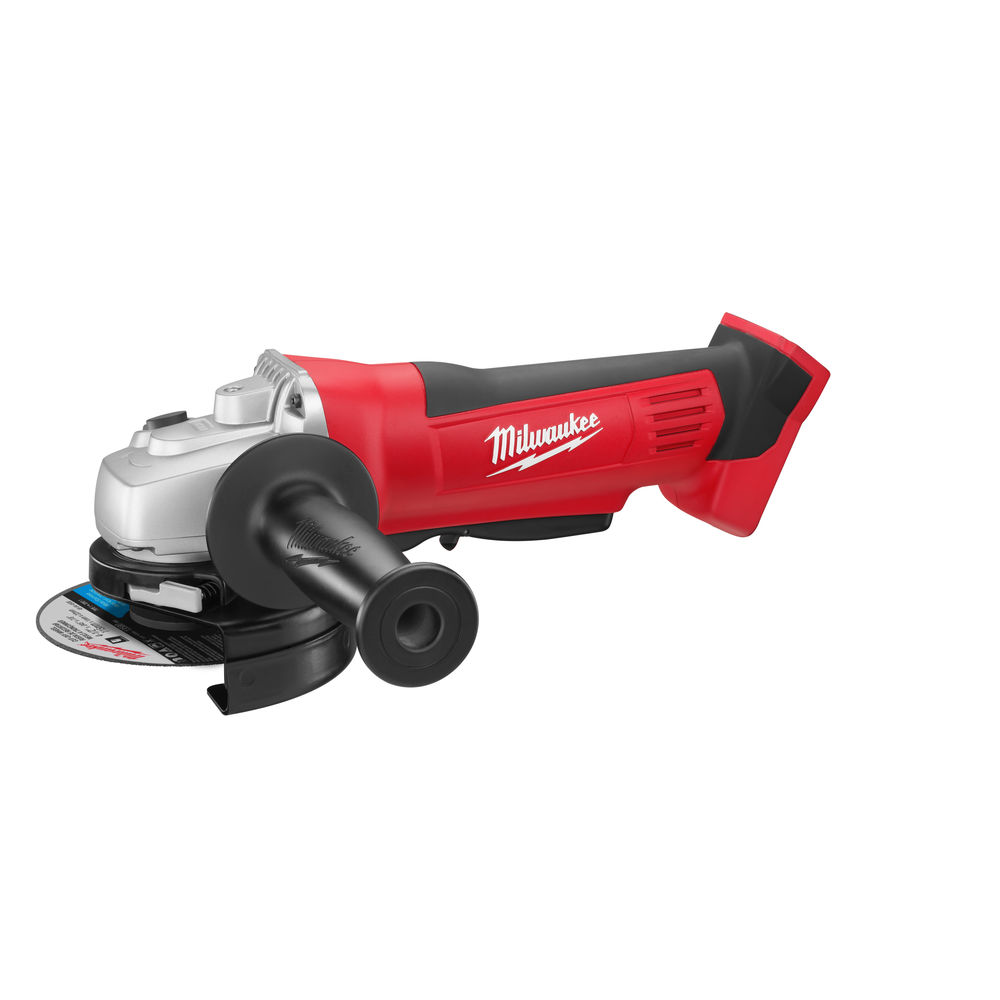 Milwaukee HD18AG-115 Angle Grinder - 18V 115mm Angle Grinder with Paddle Switch Body Only 4933411210