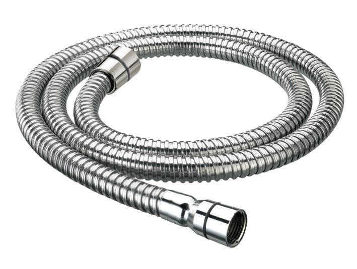 BRISTAN SHOWER HOSE 1.5M CONE TO CONE 8MM BORE STAINLESS STEEL - HOS 150CC01 C