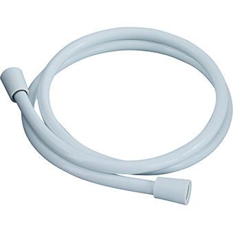 BRISTAN SHOWER HOSE 1.5M CONE TO CONE 8MM BORE WHITE PVC - HOS 150CC01W