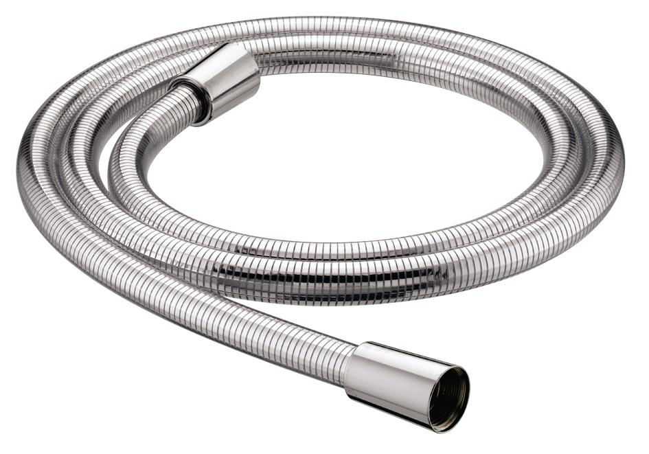 BRISTAN SHOWER HOSE 1.5M CONE TO CONE 8MM BORE CHROME EASY CLEAN - HOS 150CCE01 C