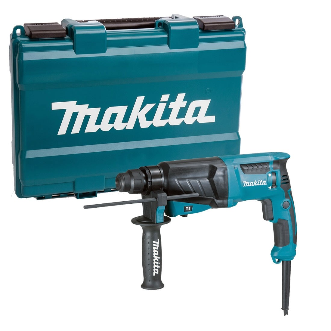 Makita HR2630 240V 3-Mode SDS Plus Rotary Hammer Drill 26mm - Variable Speed Control by Trigger