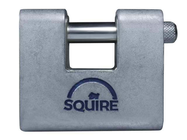 SQUIRE WAREHOUSE PADLOCK STEEL ARMOURED 80MM KEYED ALIKE - ASWL2KA