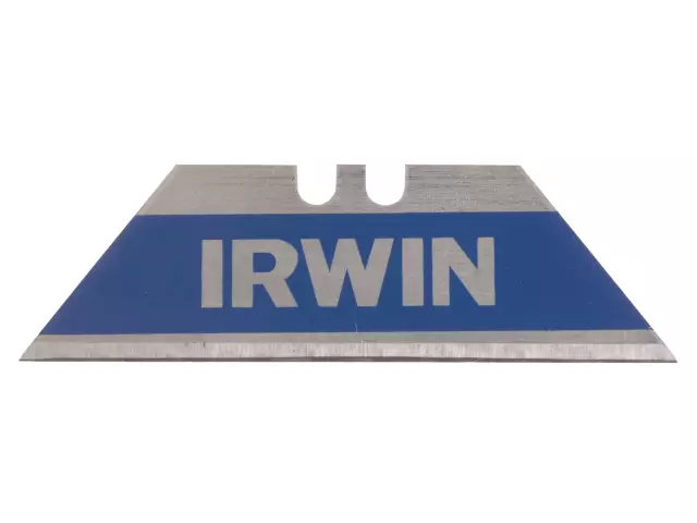 IRWIN BI-METAL TRAPEZOID KNIFE BLADES (PACK OF 10)