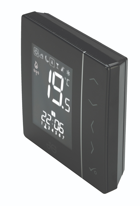 JG SPEEDFIT AURA WIRELESS THERMOSTAT BATTERY BLACK