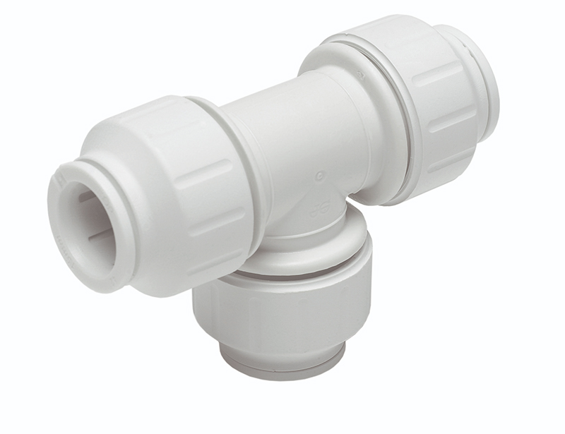 SPEEDFIT 15MM EQUAL TEE WHITE PEM0215W