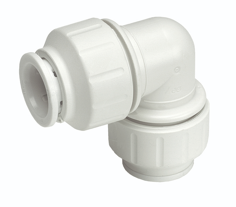 SPEEDFIT 22 X 15MM REDUCING ELBOW 90 DEGREE WHITE