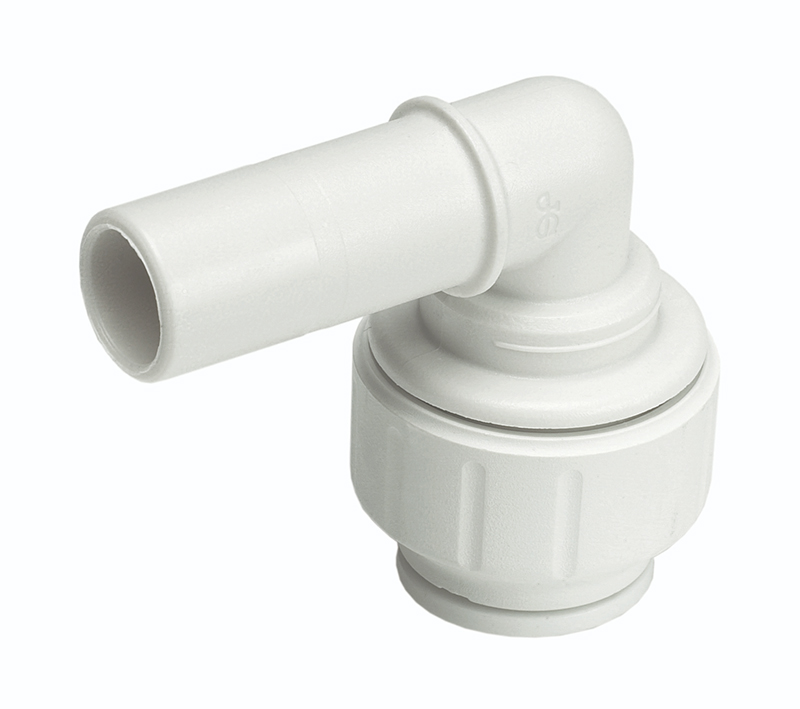 SPEEDFIT 10 X 15MM STEM ELBOW 90 DEGREE WHITE