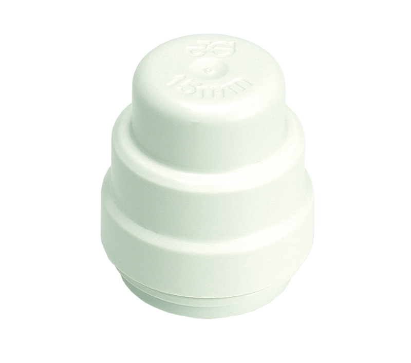 SPEEDFIT 10MM STOP END WHITE