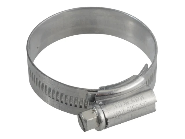JUBILEE 1M ZINC PROTECTED HOSE CLIP 32 - 45MM (1.1/4 - 1.3/4IN)