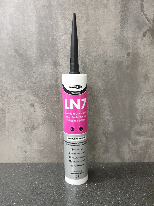 Bond-It LN7 Low Modulus Neutral Cure Silicone Sealant EU3 - Black