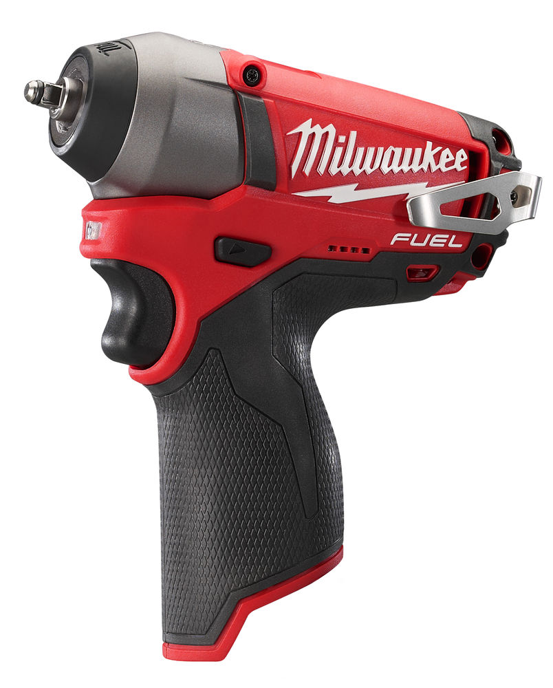 "MILWAUKEE 12V FUEL IMPACT WRENCH 1/4"" - M12CIW14 - MACHINE ONLY"