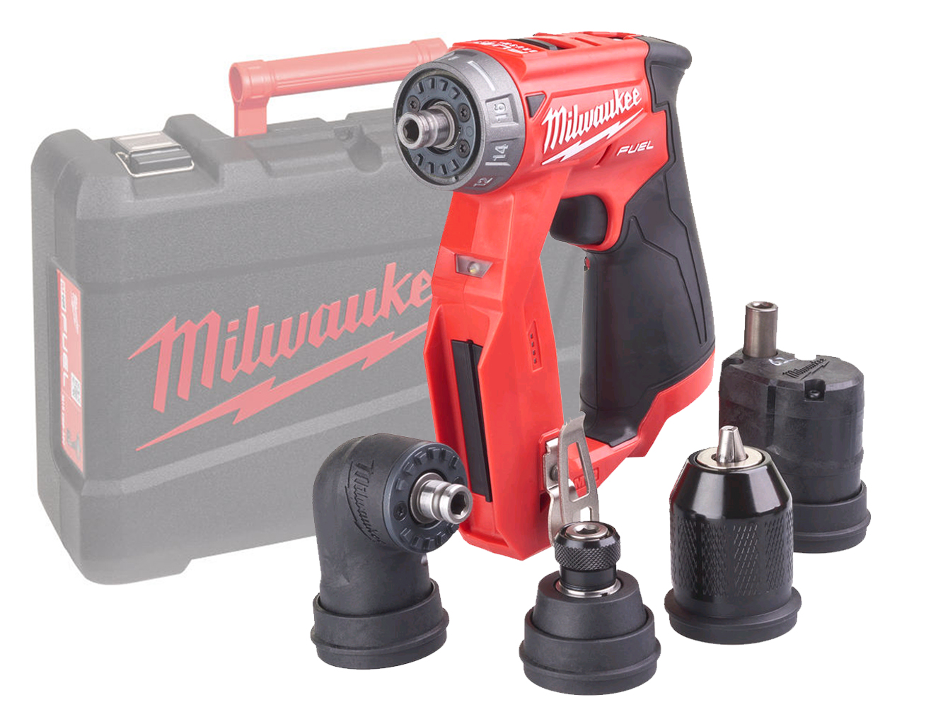 MILWAUKEE 12V FUEL BRUSHLESS 4in1 MULTI DRILL - M12FDDXKIT - BODY ONLY