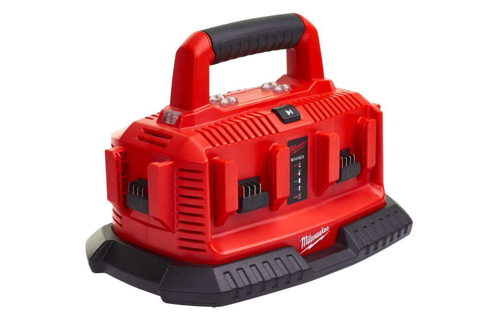 MILWAUKEE 18V MULTIBAY SEQUENTIAL CHARGER - M1418C6 - 110V