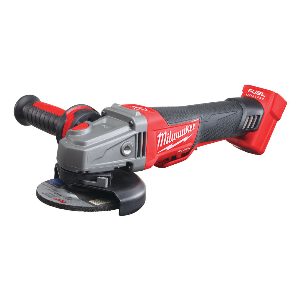 Milwaukee M18CAG115XPDB 18V Fuel 115mm Breaking Grinder With Paddle Switch - Body Only