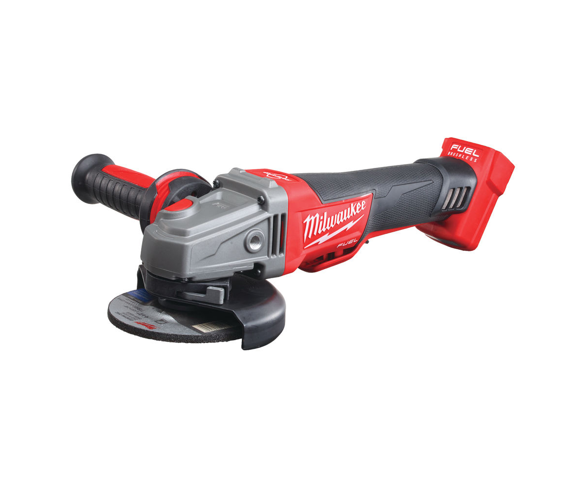 MILWAUKEE 18V FUEL 115MM ANGLE GRINDER - M18CAG115XPDB - BODY ONLY