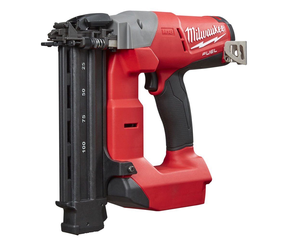 MILWAUKEE 18V FUEL 2ND FIX STRAIGHT NAIL GUN - M18CN18GS - BODY ONLY