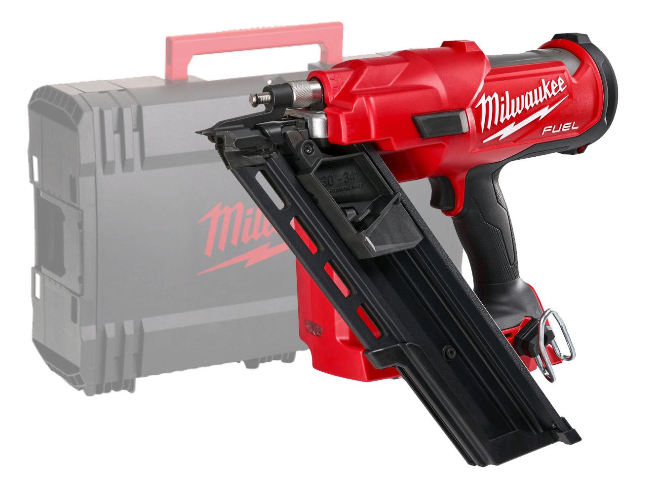 Milwaukee M18FFN 18V Fuel Framing Nailer (1St Fix Nail Gun) Gasless - Body Only