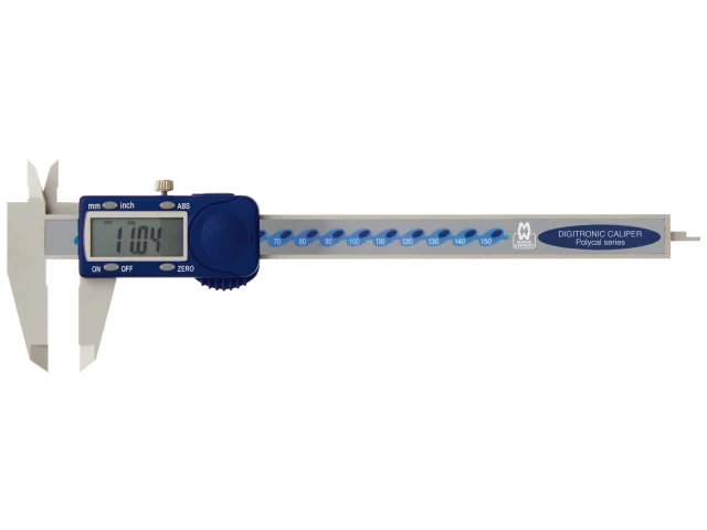 MOORES AND WRIGHT POLYCARBONATE DIGITAL CALIPER 150MM/6IN