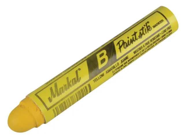 MARKAL PAINTSTIK COLD SURFACE MARKER YELLOW - MRK-80221