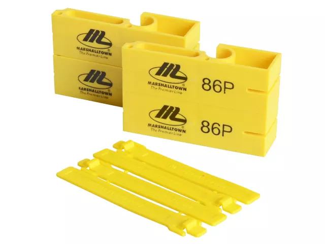 MARSHALTOWN 86P  PLASTIC LINE BLOCKS - 2PK
