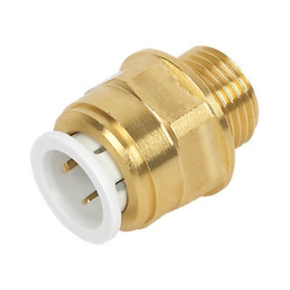 Speedfit Brass Male Coupler 15mm x 1/2in BSPT