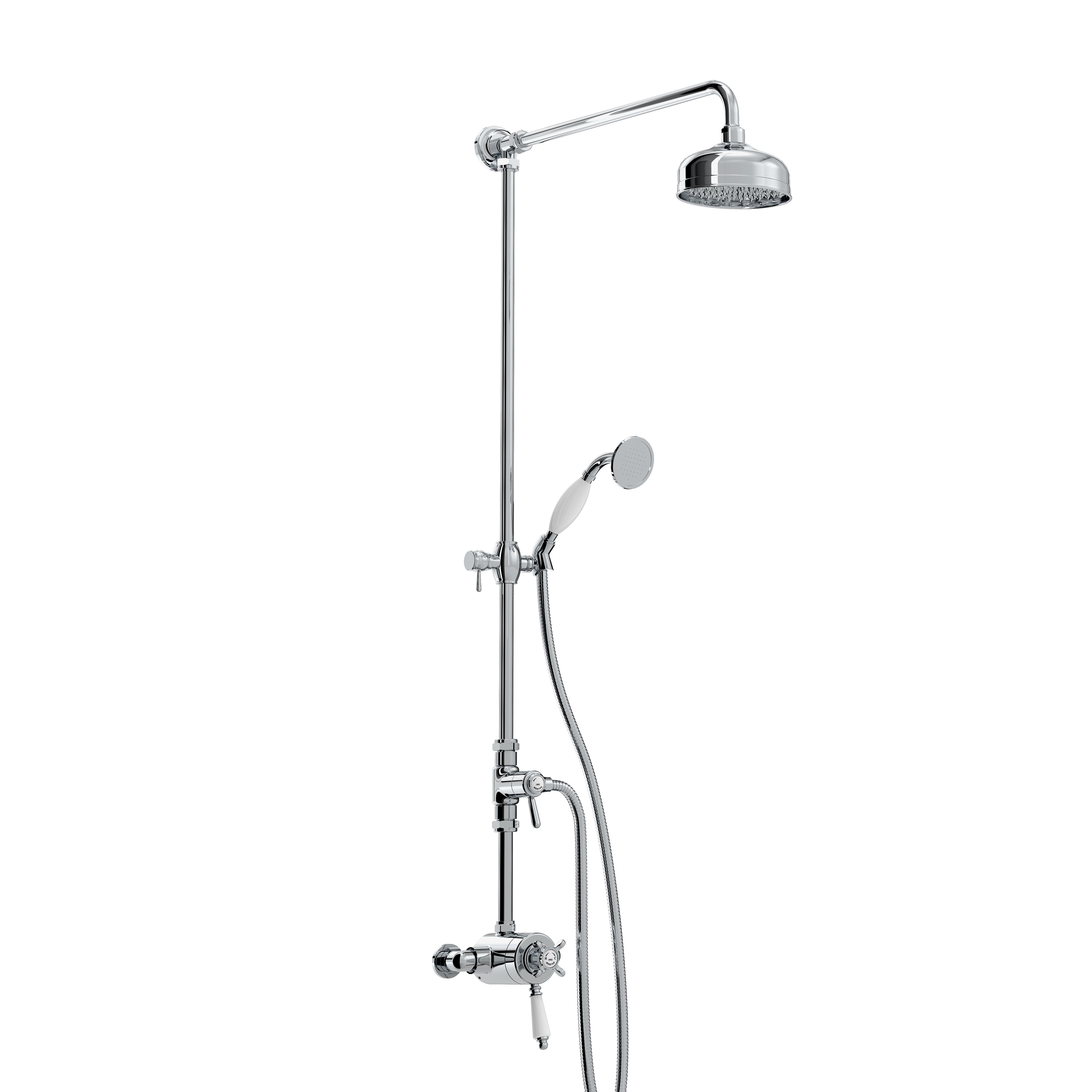 BRISTAN 1901 DUAL CONTROL THERMOSTATIC EXPOSED SHOWER VALVE - N2 CSHXDIV C