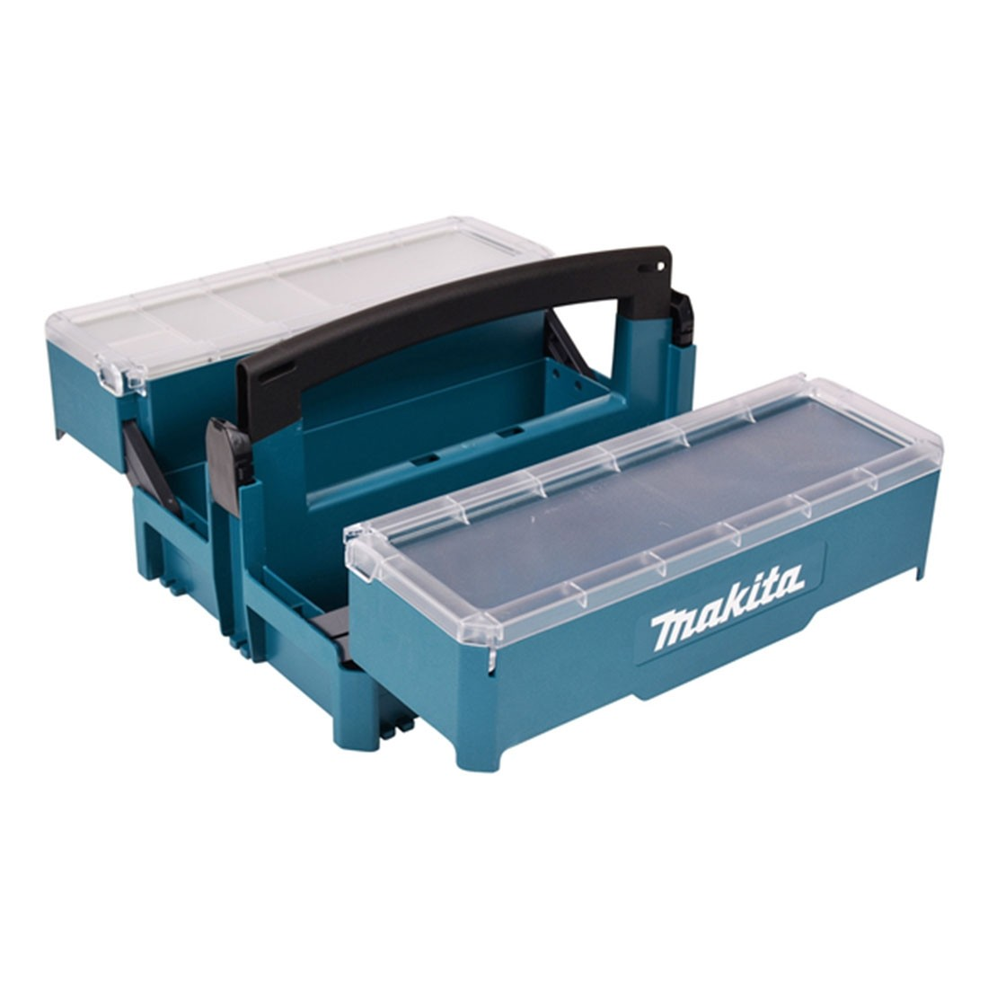MAKITA STACKING CASE CANTILEVER TOOL BOX - P-84137 - 395MM (L) X 295MM (W) X 234MM (H)