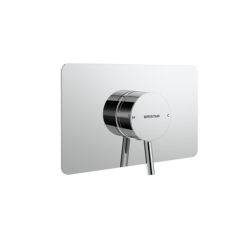 BRISTAN PRISM CONCEALED THERMOSTATIC SEQUENTIAL SINGLE CONTROL SHOWER VALVE - PM2 SQSHCVO C