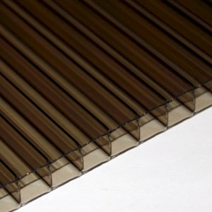 10mm Bronze Polycarbonate Sheet