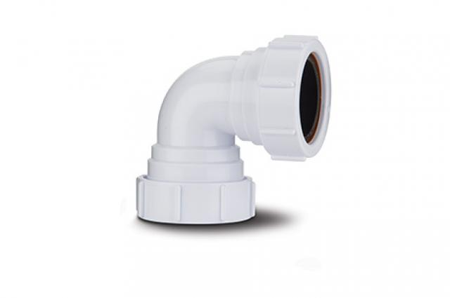Polypipe 32mm Compression Waste Knuckle Bend 90 Degree