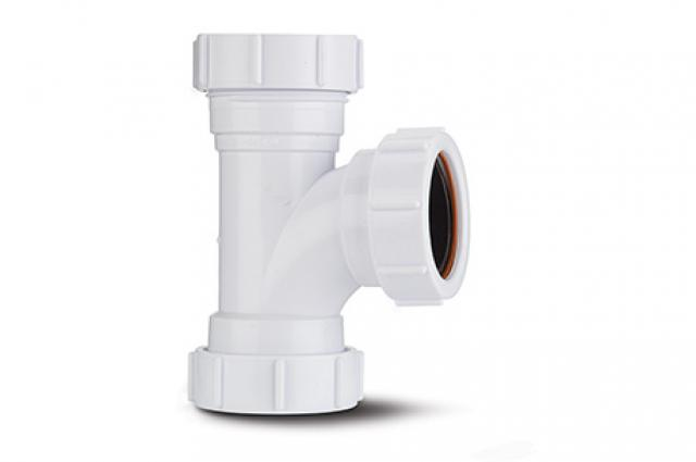 Polypipe 32mm Compression Waste Equal Tee