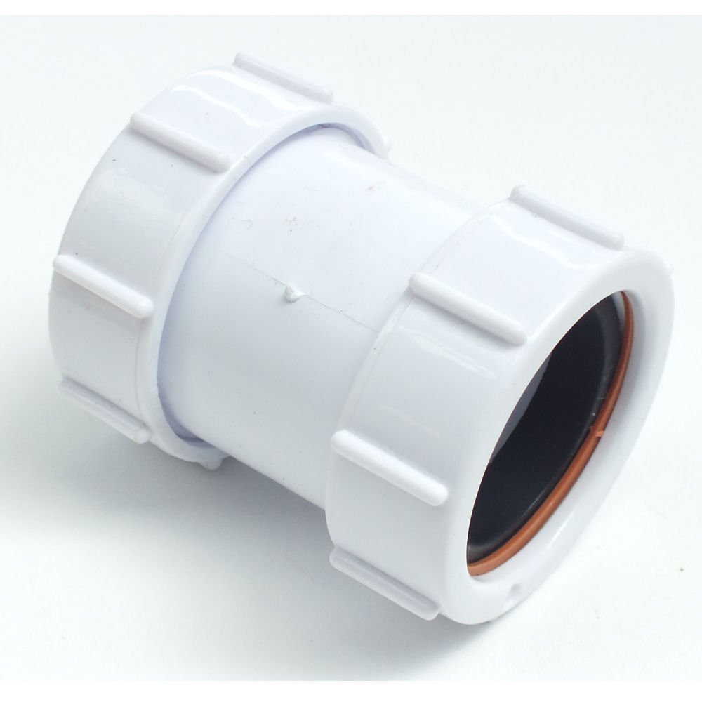 Polypipe 32mm Compression Waste Straight Connector